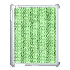 Knittedwoolcolour2 Apple Ipad 3/4 Case (white) by snowwhitegirl