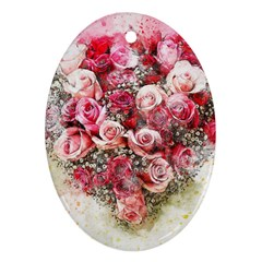 Flowers 2548756 1920 Oval Ornament (two Sides) by vintage2030