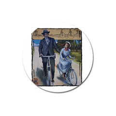 Bicycle 1763283 1280 Magnet 3  (round) by vintage2030