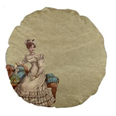 Background 1775324 1920 Large 18  Premium Round Cushions by vintage2030