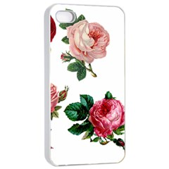 Roses 1770165 1920 Apple Iphone 4/4s Seamless Case (white) by vintage2030