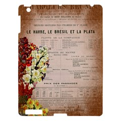 Letter Floral Apple Ipad 3/4 Hardshell Case