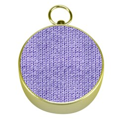 Knitted Wool Lilac Gold Compasses