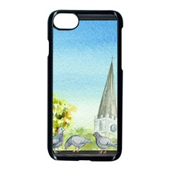 Town 1660455 1920 Apple Iphone 8 Seamless Case (black) by vintage2030
