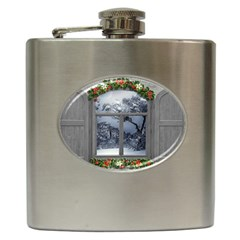 Winter 1660924 1920 Hip Flask (6 Oz) by vintage2030