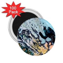 Abstract Structure Background Wax 2 25  Magnets (100 Pack)
