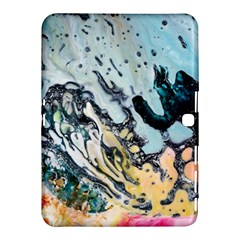 Abstract Structure Background Wax Samsung Galaxy Tab 4 (10 1 ) Hardshell Case  by Nexatart