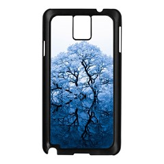 Nature Inspiration Trees Blue Samsung Galaxy Note 3 N9005 Case (black) by Nexatart