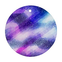 Background Art Abstract Watercolor Ornament (round) by Nexatart