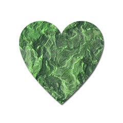 Geological Surface Background Heart Magnet by Nexatart