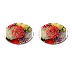 Flowers 1776541 1920 Cufflinks (oval) by vintage2030