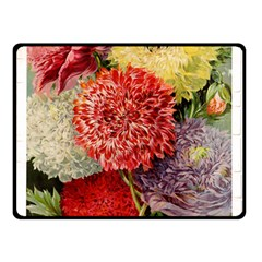 Flowers 1776541 1920 Double Sided Fleece Blanket (small)  by vintage2030