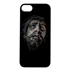Jesuschrist Face Dark Poster Apple Iphone 5s/ Se Hardshell Case by dflcprints