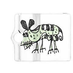 Monster Rat Pencil Drawing Illustration Kindle Fire Hdx 8 9  Flip 360 Case by dflcprints