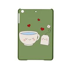 Cute Tea Ipad Mini 2 Hardshell Cases by Valentinaart