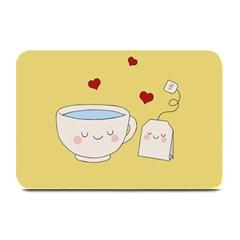 Cute Tea Plate Mats by Valentinaart
