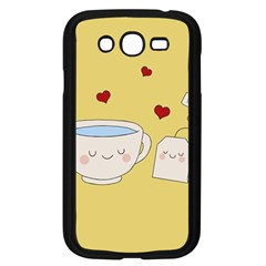 Cute Tea Samsung Galaxy Grand Duos I9082 Case (black) by Valentinaart