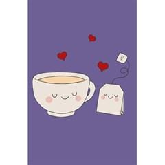 Cute Tea 5 5  X 8 5  Notebooks by Valentinaart