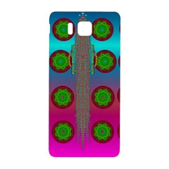 Meditative Abstract Temple Of Love And Meditation Samsung Galaxy Alpha Hardshell Back Case by pepitasart