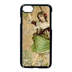 Fairy 1229005 1280 Apple Iphone 7 Seamless Case (black) by vintage2030