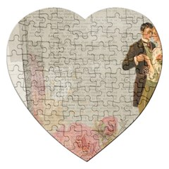 Background 1227545 1280 Jigsaw Puzzle (heart) by vintage2030