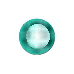Circle Therapy Print Golf Ball Marker by julissadesigns