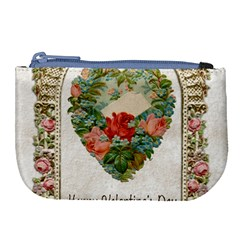 Valentines Day 1171148 1920 Large Coin Purse by vintage2030