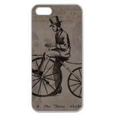 Vintage 1143342 1920 Apple Seamless Iphone 5 Case (clear) by vintage2030
