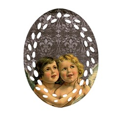 Vintage 1143398 1920 Oval Filigree Ornament (two Sides) by vintage2030