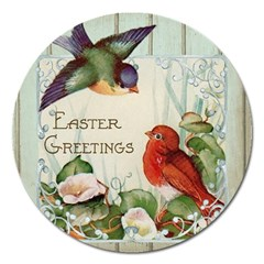 Easter 1225824 1280 Magnet 5  (round) by vintage2030