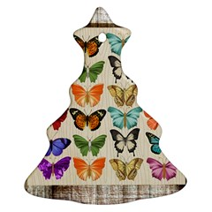 Butterfly 1126264 1920 Christmas Tree Ornament (two Sides) by vintage2030