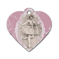 Lady 1112861 1280 Dog Tag Heart (two Sides) by vintage2030