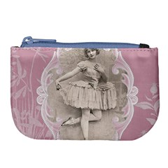 Lady 1112861 1280 Large Coin Purse by vintage2030