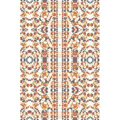 Multicolored Geometric Pattern  5 5  X 8 5  Notebooks by dflcprints