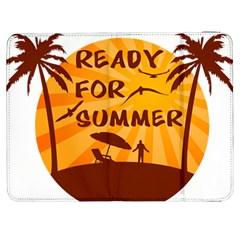 Ready For Summer Samsung Galaxy Tab 7  P1000 Flip Case by Melcu
