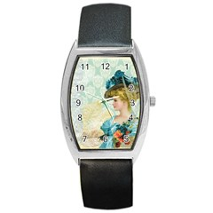 Lady 1112776 1920 Barrel Style Metal Watch by vintage2030