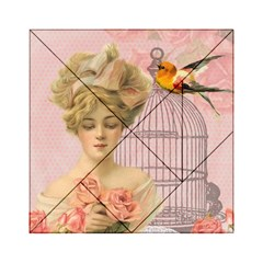 Woman 1079479 1920 Acrylic Tangram Puzzle (6  X 6 ) by vintage2030