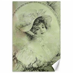 Woman 1079507 1920 Canvas 12  X 18   by vintage2030