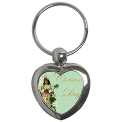 Christening 976872 1280 Key Chains (heart)  by vintage2030