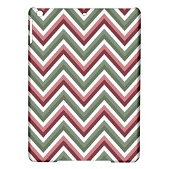 Chevron Blue Pink Ipad Air Hardshell Cases by vintage2030