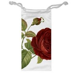 Rose 1077964 1280 Jewelry Bag by vintage2030