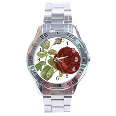 Rose 1077964 1280 Stainless Steel Analogue Watch by vintage2030