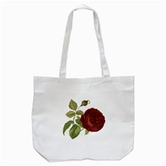 Rose 1077964 1280 Tote Bag (white) by vintage2030