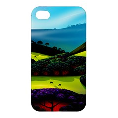 Morning Mist Apple Iphone 4/4s Hardshell Case by ValleyDreams