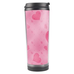 Soft Hearts A Travel Tumbler by MoreColorsinLife