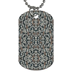 Ornate Pattern Mosaic Dog Tag (two Sides) by dflcprints