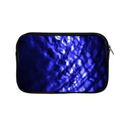 Blue Ripple Apple Macbook Pro 13  Zipper Case by vwdigitalpainting