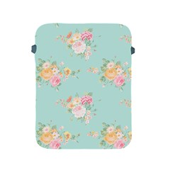 Mint,shabby Chic,floral,pink,vintage,girly,cute Apple Ipad 2/3/4 Protective Soft Cases by 8fugoso