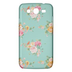 Mint,shabby Chic,floral,pink,vintage,girly,cute Samsung Galaxy Mega 5 8 I9152 Hardshell Case  by 8fugoso