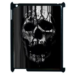 Black And Grey Nightmare Apple Ipad 2 Case (black) by vwdigitalpainting